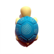 Nacpy Cartoon Tortoise Eraser Pencil Eraser Rubbers Office Drawing Tool School Stationery 5pcs Blue