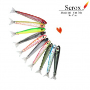 Scrox 1 Pcs New arrival Pen Fish design Ballpoint Pen Black ink Fashion gift pen School office supplies Stationery