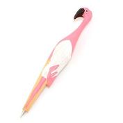 DaoRier Flamingo Wooden Ball Pen Cute Pen Stationery for School Office