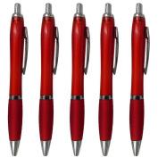 DaoRier 5Pcs Ball Pen Cute Pen Stationery for School Office