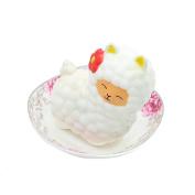 Webla Squishies Slow Rising Jumbo Sheep Squishy Cute Alpaca Squeeze Toy Stress Reliever Soft Toy