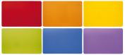 Excelsa Rainbow Set Placemats, Polypropylene, Multicoloured, 28.5 x 43 x 0.2 cm, 6 Units