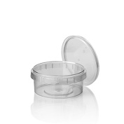 PAPSTAR Food Cup, 300 ml, Transparent