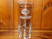 SOMERSBY CIDER PINT GLASS x 1