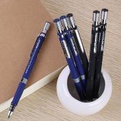 Gemini_mall® 1PC Mechanical Pencil, Black Barrel, 2.0mm, Random Colour