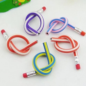 10pcs Soft Flexible Bendy Pencils Magic Bend Kids Children School Fun Equipment