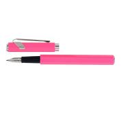 Caran d'Ache 849 Fountain Pen, Pink Fluoresent, Nib Fine