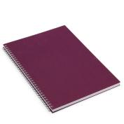 Berry linen A3 sketchbook