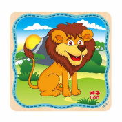 Sports Car / Cute Animal Puzzle Toy,Mamum Wooden Puzzle Educational Developmental Baby Kids Training Toy