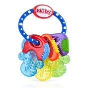IcyBite Hard/Soft Keys Teether by Nuby
