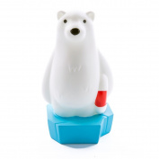 LED Night Light Polar Bear Colour Change + Timer