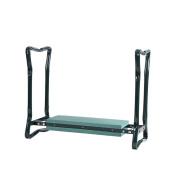 Folding Garden Kneeler/Kneeling Bench Chair,Foam Mat With Tool Pouches