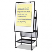 BVC EA49145016 Mastervision Creation Station Easel Magnetic Gold Ultra Dry Erase