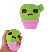 Squishies Cactus Scented Jumbo Slow Rising Kawaii Squishies Stress Relief Toy for Collection Gifts