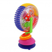 E-SCENERY Wonder Wheel Rattle Activity Centre, Ferris Wheel Handle Musical Developmental Instrument Toy