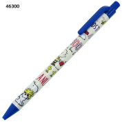 Snoopy 0.5mm Mechanical Pencil Blue Snoopy and Friends CR46300