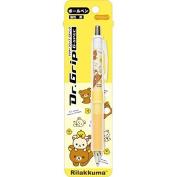 San-x Rilakkuma Dr. Grip G-SPEC Ballpoint Pen Black Ink (Yellow) Korilakkuma & Kiiroi Tori