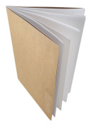 Artway Softback Sketchbook with 130gsm Recycled Paper & Thick Cover - 28 Sides - Wholesale 72 Pack - White - A4