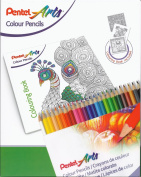 Pentel Arts – Set of Pencils Assorted Colours