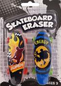 Craze Eraze - Skateboard Eraser- Novelty Collectors Edition - NEW