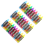30 Kid's Novelty Crayon Rubber Erasers