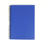 Blue Cover Sketchbook A3 Portrait Spiral Wiro Semi-Hardback 40 Sheets Acid Free All-Media Cartridge Paper - 150 Gsm FSC™ Ecological Cartridge Paper - Suitable for Pencils, Pens, Markers, Inks, Light Watercolour Washes, Gouache
