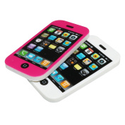 3 Kid's Novelty Erasers - iphone Mobile Phone