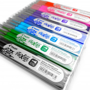 Frixion Point - Ultra Fine Erasable Rollerball - 0.5mm Needle Point - 3 Refills of Each Colour
