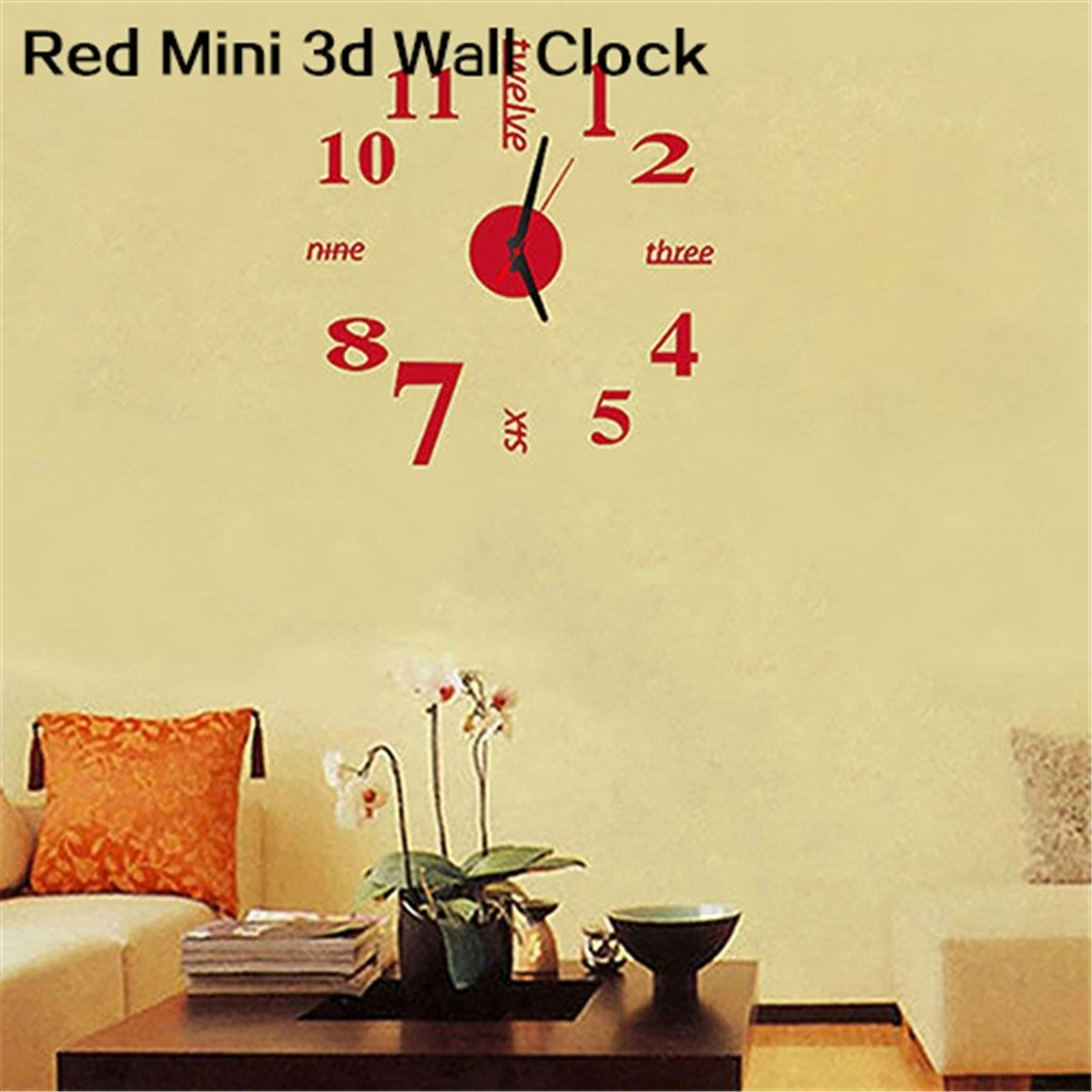 Wall Clock Stick On Homeware: Buy Online from Fishpond.co.nz