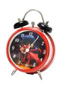 Joy Toy Miraculous Alarm Clock 9 cm Multi-Coloured Metal, 4.5 x 9 x 13 cm