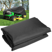 Woutlets New 190T Mower Lawn Tractor Cover UV Resistant Storage Cover Garden Yard Riding Black