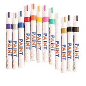 12 Pcs Colour Waterproof Permanent Oil Based Art Draw Paint Marker Pen Signature Pen Set