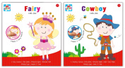 Anker Kids Create/Arts and Crafts in 2 Designs, Plastic, Assorted Colour, 29.7 x 21 x 2 cm