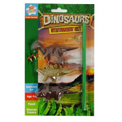 "Anker Kids Create ""Dinosaur"" Stationery Set, Plastic, Assorted Colour"
