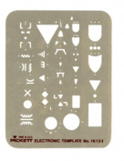 Pickett Electronic Template, Most Used Logic and Electronic Symbols