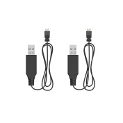 Holy Stone 2pcs USB Cable for Remote Controller of RC Quadcopter Drone HS230