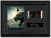 Black Panther 35 mm FRAMED Film Cell Display Stunning Collectable New Stock