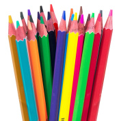 [Pack of 24] Art Colouring Pencils Artists Drawing Sketching Assorted Colour Children