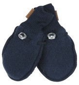 mikk line Baby Boys' Gloves blue blue 62 cm/68 cm