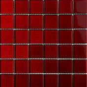 Alfa 5902027009934 Mozaik, Glass, for Amaranth Metallic 29.8 x 29.8 cm