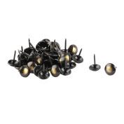 sourcingmap Metal Office Dorm Round Furniture Sofa Bed Hat Tack Nail 48 Pcs Bronze Tone