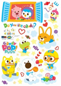 Easy Instant Home Decor Wall Sticker Decal Sticker - HS-PPS-58521 Pororo Candy Pop