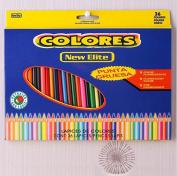 Pororo 36 Colour Pencil Pastel Crayon Set