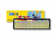 Cray Not Mini Artist Oil Pastels 25 Colour 8 mm Assorted Complementary