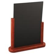Securit Table Boards, 10 7/8 x 2 3/4 x 12 1/2, Mahogany Frame, 1/ea