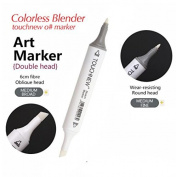 3PCS 0# Colourless Blender Marker Alcohol Based Ink Double Head Sketch Marker Set For Artist Manga Painting Blender Supplies