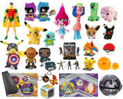10 Easter Eggs With Assorted Premium Kids Toys - Pre Filled Easter Eggs Ready To Hide - Awesome For Easter Egg Hunts and Kids Birthday Parties - Favourite Characters, Bright Colours, and Sturdy Designs