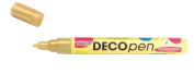 Kreul Hobby Line 46115 – Decopen with Rounded Tips 2 – 4 mm, gold