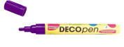 Kreul Hobby Line 46107 – Decopen with Rounded Tips 2 – 4 mm – Purple