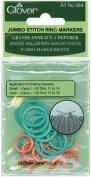 Brand New Jumbo Stitch Marker Rings-20/Pkg